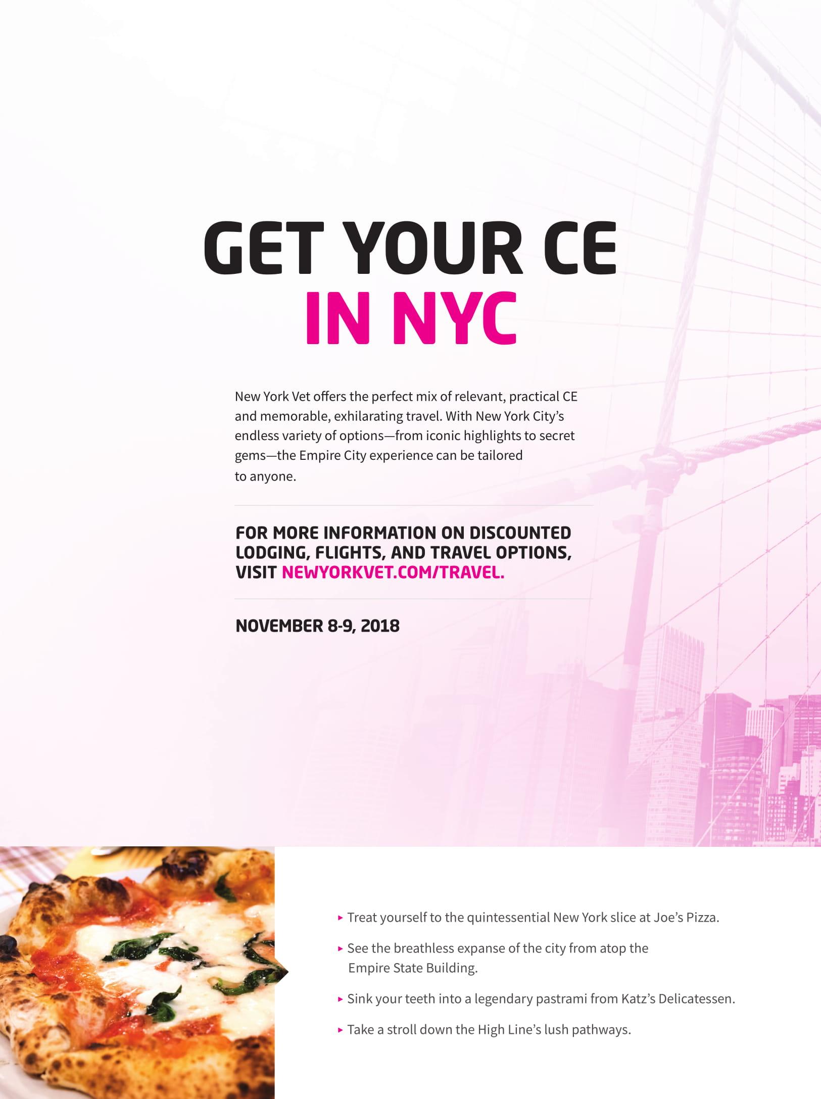 New York Vet CB October 2018