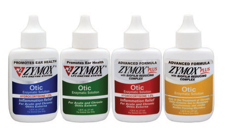 ZYMOX Otic Enzymatic Solutions for chronic and acute otitis externa