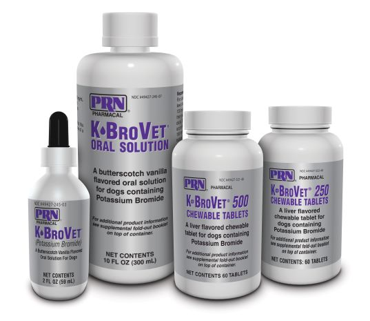 """When dealing with epileptic patients, it's critical to have confidence in product efficacy to avoid breakthrough seizures that can be brought on by the assumption that drugs not manufactured specifically for dogs will always work the same way in a canine patient. With a consistently manufactured product like K●BroVet® that contains the only FDA-approved supply of potassium bromide in the entire country, I know exactly how that drug will behave in nearly every patient."" – Simon R Platt, BVM&S, FRCVS, DACVIM (Neurology), DECVN"
