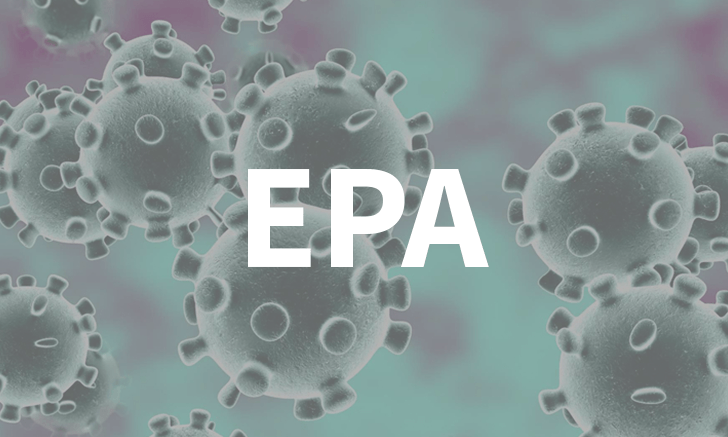 EPA: Disinfectants for Use Against SARS-CoV-2