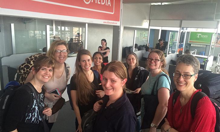 Arrival in Malawi