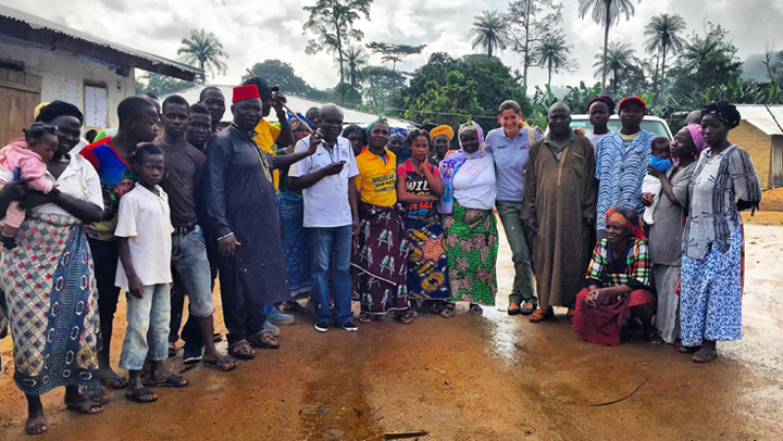 A visit with the determined individuals practicing community education and surveillance to keep Ebola from returning to one of the first areas affected in Liberia. Photos courtesy of Shannon Mesenhowski, DVM, MPH