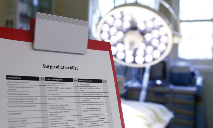 Preparing for Safe, Efficient Surgery